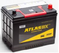 Автомобильные аккумуляторы ATLAS 70Ач EN540А о.п. (266х172х220, B01) MF57029 Обратная полярность Азия