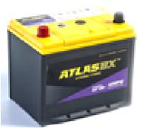 Автомобильные аккумуляторы ATLAS UHPB 75Ач EN650А п.п. (230х172х220, B01) UMF95D23R Прямая полярность Азия