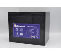 Аккумулятор BatteryCraft 12В 105Ач LiFePo4 (246х157х185)