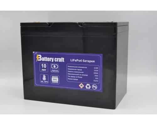 Аккумулятор BatteryCraft 12В 105Ач LiFePo4