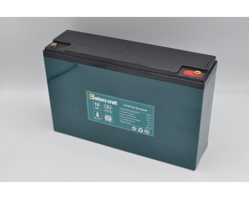 Аккумулятор 12В 50Ач  BatteryCraft