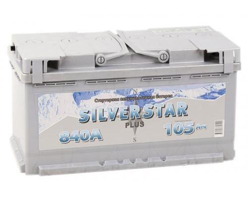 Автомобильный аккумулятор  Silverstar 105 Ач