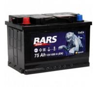 Автомобильный аккумулятор  Bars 75 Ач 278x175x190