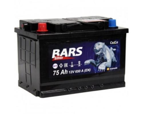 Автомобильный аккумулятор  Bars 75 Ач