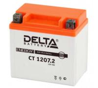 Мото аккумулятор Delta 7 Ач 114x70x108