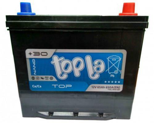 Автомобильный аккумулятор  Topla 65 Ач