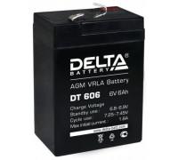Аккумулятор Delta DT 606 (6 вольт 6 ампер)