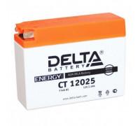Мото аккумулятор Delta 2.5 Ач 114x39x87