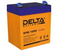Аккумулятор Delta DTM 1205 (12 вольт 5 ампер)