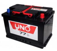 Автомобильный аккумулятор  Uno 77 Ач 278x175x190