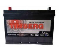 Автомобильный аккумулятор  Timberg 100 Ач 296x172x220