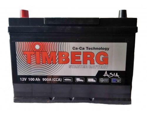 Автомобильный аккумулятор  Timberg 100 Ач