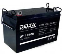 Автомобильный аккумулятор  Delta 100 Ач 329x172x219