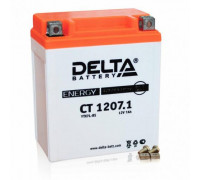 Мото аккумулятор Delta 7 Ач 114x70x132