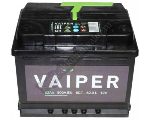 Автомобильный аккумулятор  Vaiper 62 Ач