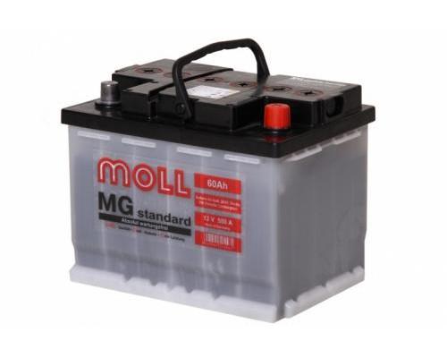 Автомобильный аккумулятор  Moll 60 Ач