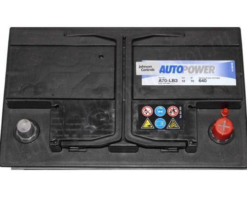 Автомобильный аккумулятор   70 Ач