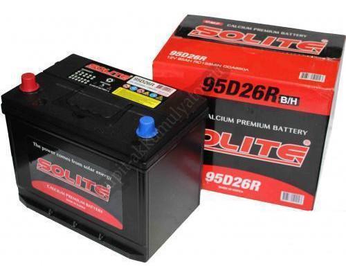 Автомобильный аккумулятор  Solite 85 Ач