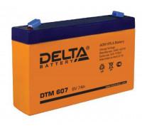 Аккумулятор Delta DTM 607 (6 вольт 7 ампер)