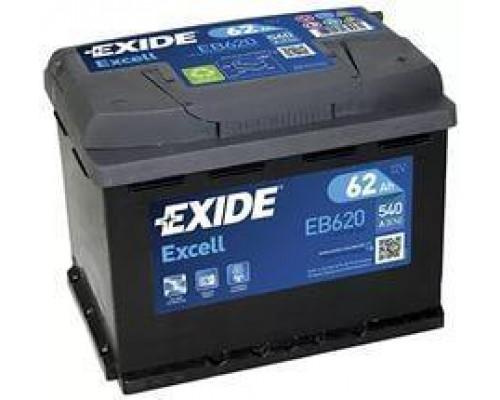 Автомобильный аккумулятор  Exide 62 Ач