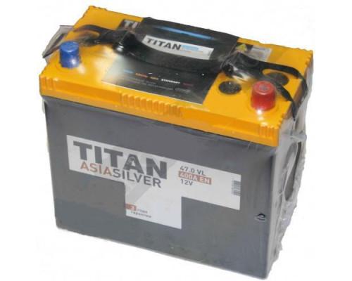 Автомобильный аккумулятор  Titan 47 Ач