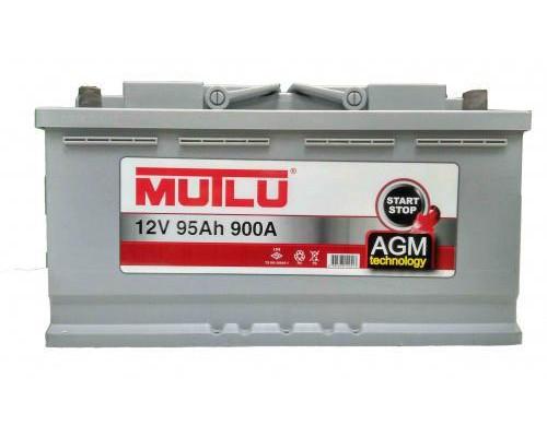 Автомобильные аккумуляторы MUTLU StartStop AGM 95 A.ч Обратная полярность