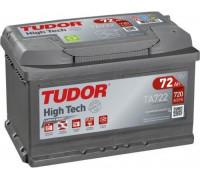 Автомобильный аккумулятор  Tudor 72 Ач 278x175x175