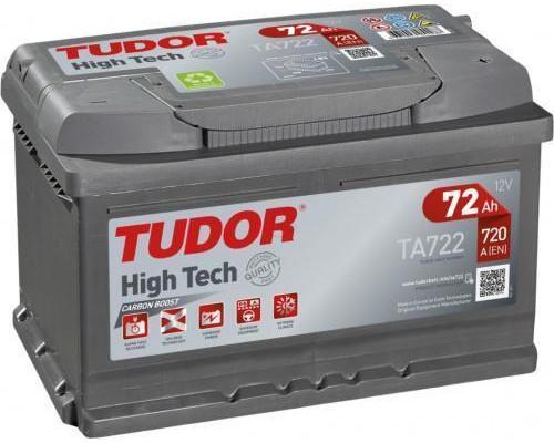 Автомобильный аккумулятор  Tudor 72 Ач