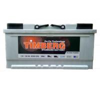 Автомобильный аккумулятор  Timberg 100 Ач 353x175x175