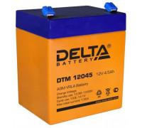 Аккумулятор Delta DTM 12045 (12 вольт 4.5 ампер)