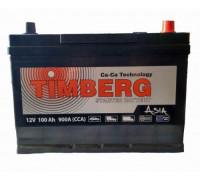 Автомобильный аккумулятор  Timberg 100 Ач 306x173x220