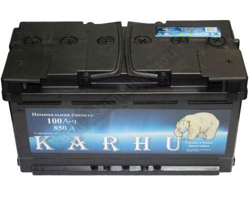 Автомобильный аккумулятор  Karhu 100 Ач