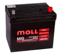 Автомобильный аккумулятор  Moll 66 Ач 232x173x225