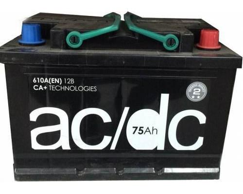 Автомобильный аккумулятор   75 Ач