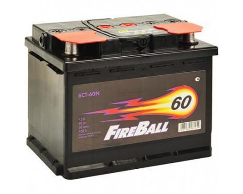 Автомобильный аккумулятор  Fire Ball 60 Ач
