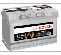 Автомобильный аккумулятор Bosch AGM S5 A08 70 А.ч Обратная полярность