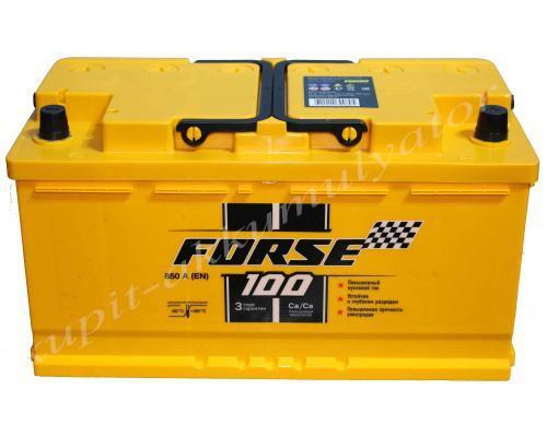 Автомобильный аккумулятор  Forse 100 Ач