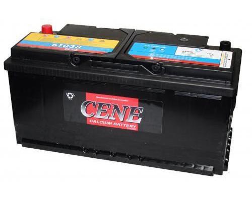 Автомобильный аккумулятор  Cene 110 Ач