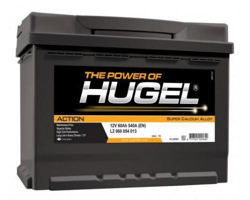Автомобильный аккумулятор  Hugel 60 Ач