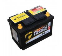 Автомобильный аккумулятор  Black Horse 75 Ач 278x175x175