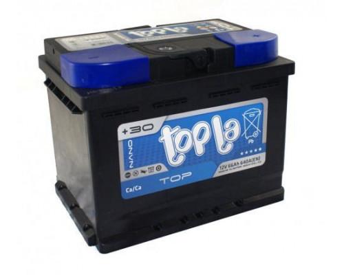 Автомобильный аккумулятор  Topla 66 Ач