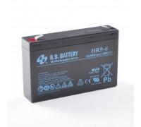 Аккумулятор для ИБП/UPS BB Battery HR 9-6 (6 вольт 7 ампер)