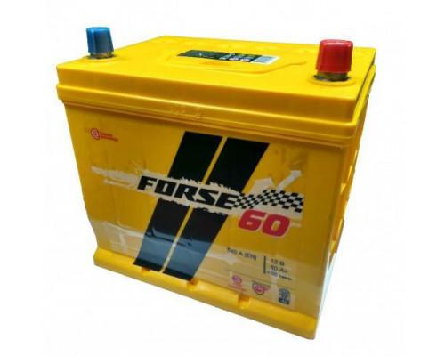 Автомобильный аккумулятор  Forse 60 Ач
