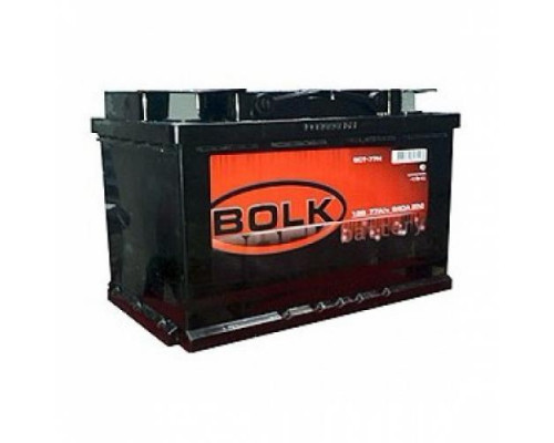 Автомобильный аккумулятор  Bolk 77 Ач