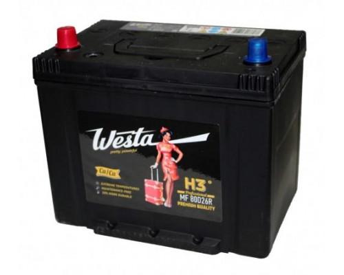 Автомобильный аккумулятор  Westa 70 Ач