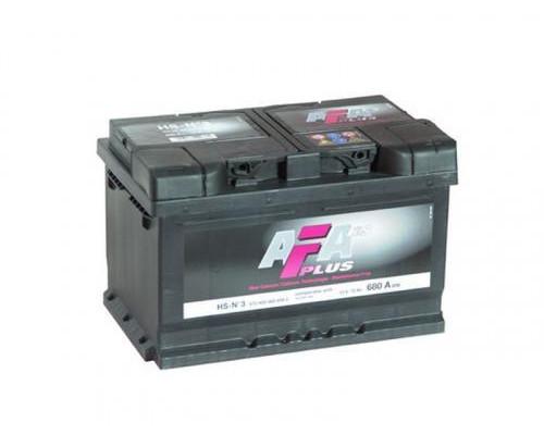 Автомобильный аккумулятор  Afa 72 Ач