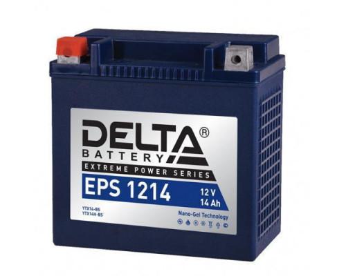 Мото аккумулятор Delta 14 Ач