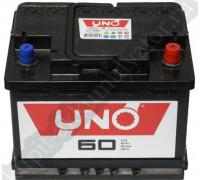 Автомобильный аккумулятор  Uno 60 Ач 242x175x190