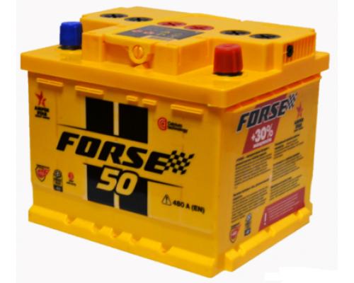 Автомобильный аккумулятор  Forse 50 Ач