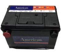 Автомобильный аккумулятор  American 95 Ач 260x179x186
